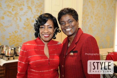 The Links Inc Texas Spring Cypress Chapter S Red Dress
