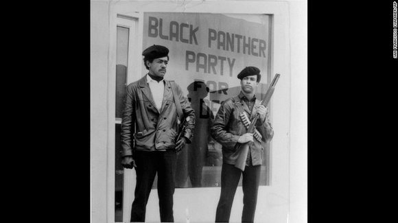 Beyoncé didn't bring back the Black Panthers when she and an Afro-frizzed dance team donned black leather jackets and berets ...