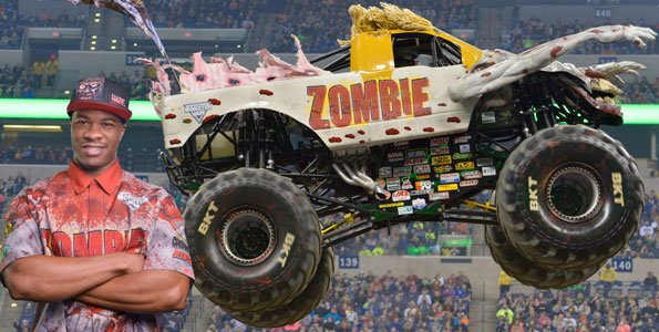 First African American Driver Leads Monster Jam Into Baltimore The