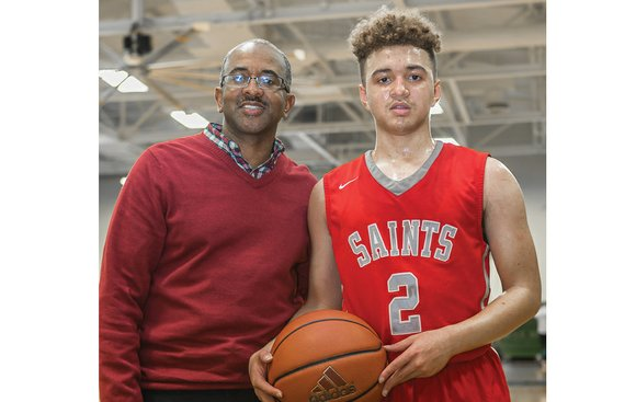 Eric Thompson Sr. has left his son, Eric Jr., with a tough act to follow on the basketball court. The ...