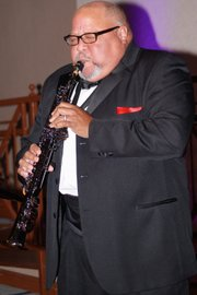 Dr. Oscar Sueing playing saxophone. He is the associate pastor at Abyssinian Baptist Church. (Photo: Tyrone P. Easley)