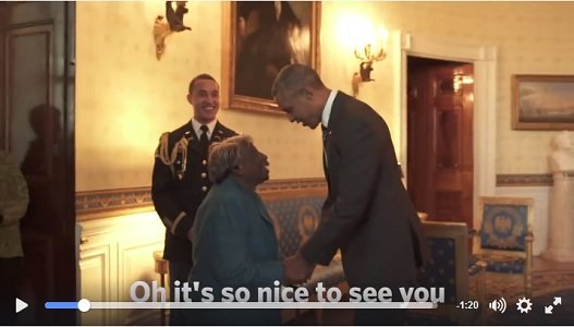 Virginia McLaurin waited all her life to see an African-American in the White House. So, when she finally got a ...
