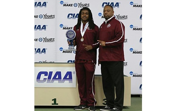Chazton McKenzie is the master of multitasking at Virginia Union University. The recent CIAA Indoor Track and Field Championships in ...
