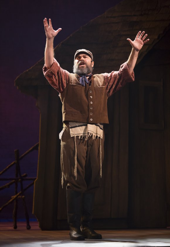 "I was so excited to hear that there was a revival of ""Fiddler on the Roof"" playing at the Broadway ..."