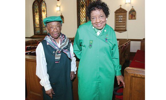 Gladys Lewis and Anna Washington have faithfully led the Girl Scouts troop at their church, St. Philip's Episcopal Church on ...