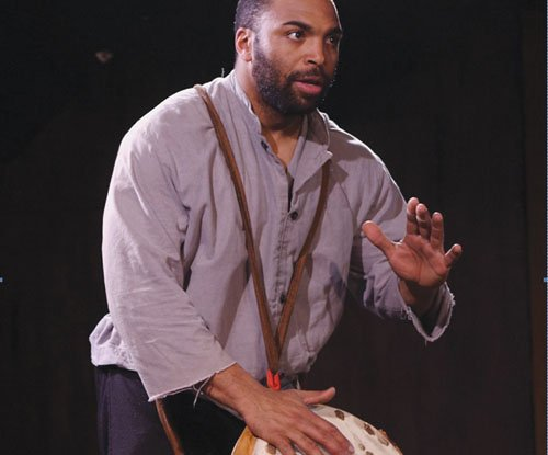 Powerful one-man play told by York, the only black man on the Lewis and Clark Expedition, comes to Jefferson High ...