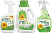 A Green Cleaning Service focuses on using only eco-friendly products such as those from Green Works.