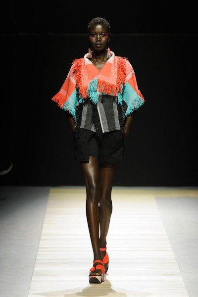 Issey Miyake at Paris Fashion Week Spring 2016.