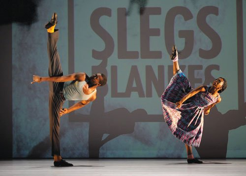 Blending modern dance with hip hop and urban street dance