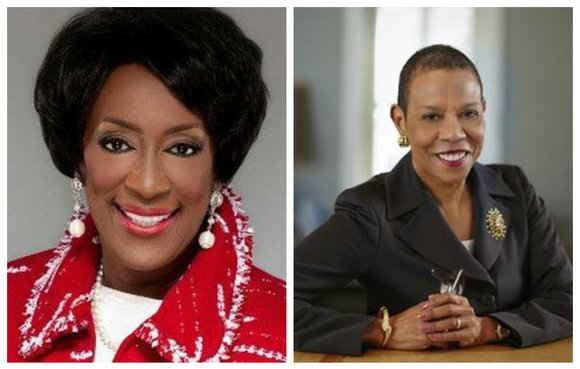 Two women who serve as presidents of historically Black colleges are speaking at Harlem's Abyssinian Baptist Church on Sunday during ...