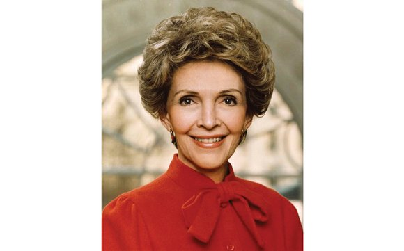 Nancy Reagan, the former actress who was fiercely protective of her husband, President Ronald Reagan, through a Hollywood career, eight ...
