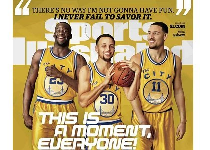 As the Golden State Warriors plow through their history-making season, superstar point guard Stephen Curry is having the time of ...