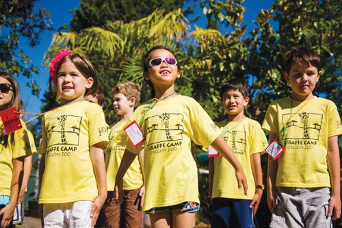 Camp activities geared to each age group