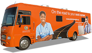 Will County's mobile workforce center.