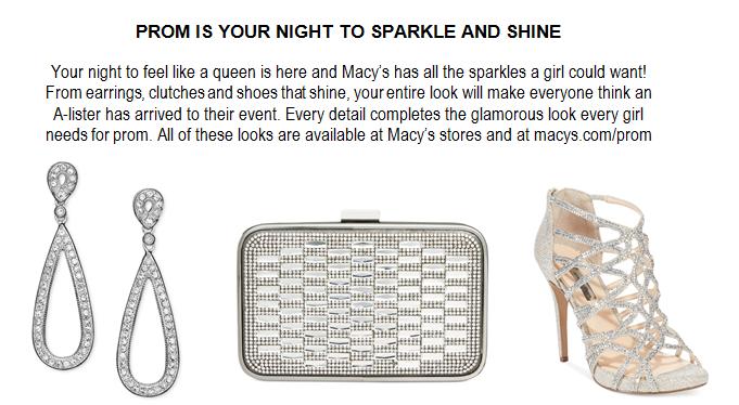 Macy's Makes Every Girl Shine Bright This Prom Season ...