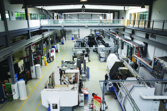 Project addresses manufacturing challenges through applied research and advanced technical training.