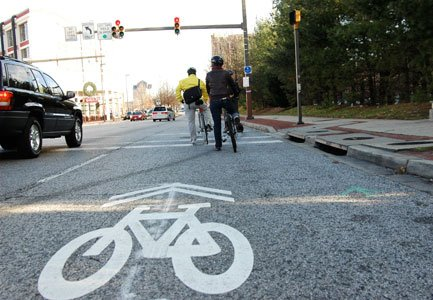 Between 2000 and 2009, U.S. Census data revealed the number of commuter cyclists in Baltimore increased by a whopping 233 ...