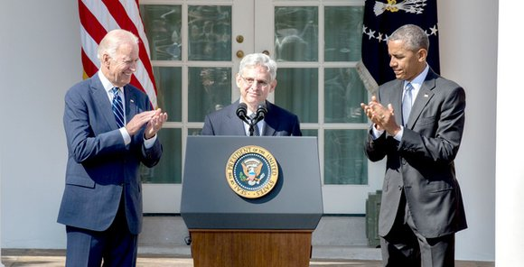 President Obama's decision to nominate U.S. Appeals Court for the District of Columbia Circuit Chief Judge Merrick B. Garland on ...
