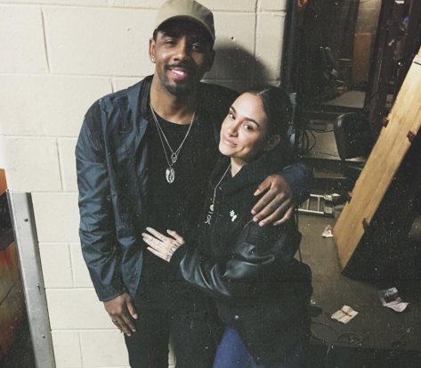 Kehlani deletes her Instagram account after being flooded with comments about Kyrie Irving's win last night.