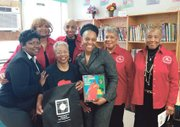 Continentals partnered with Sistas Thrilled About Reading Book Club of Baltimore to provide gifts for students who participated in African American Read-ins during Black History Month.