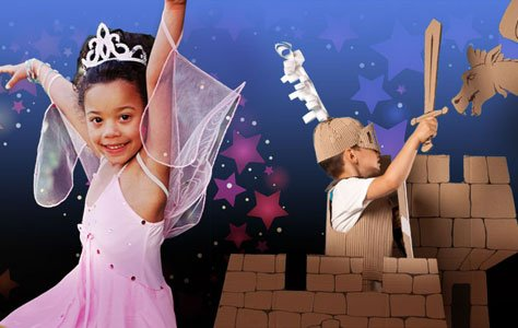 """FREE events throughout the """"Pratt Kingdom"""" during the month of April including magicians, puppet shows, storytellers and Fairy Tale Balls!"""