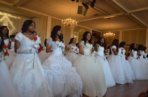 The Memphis Alumni Chapter of Kappa Alpha Psi Fraternity, Inc. held its 66th Annual Debutante Presentation at Woodland Hills Country Club in Cordova last Saturday (March 26). (Photo: Tyrone P. Easley)
