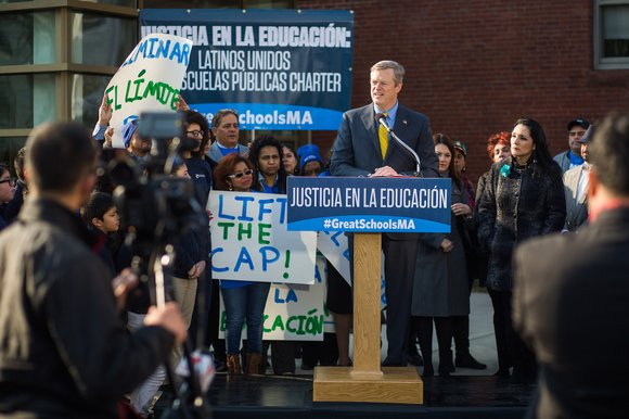 "In Massachusetts, the charter school movement challenges the dichotomy between charters and district run schools, intentionally using the phrase ""public ..."