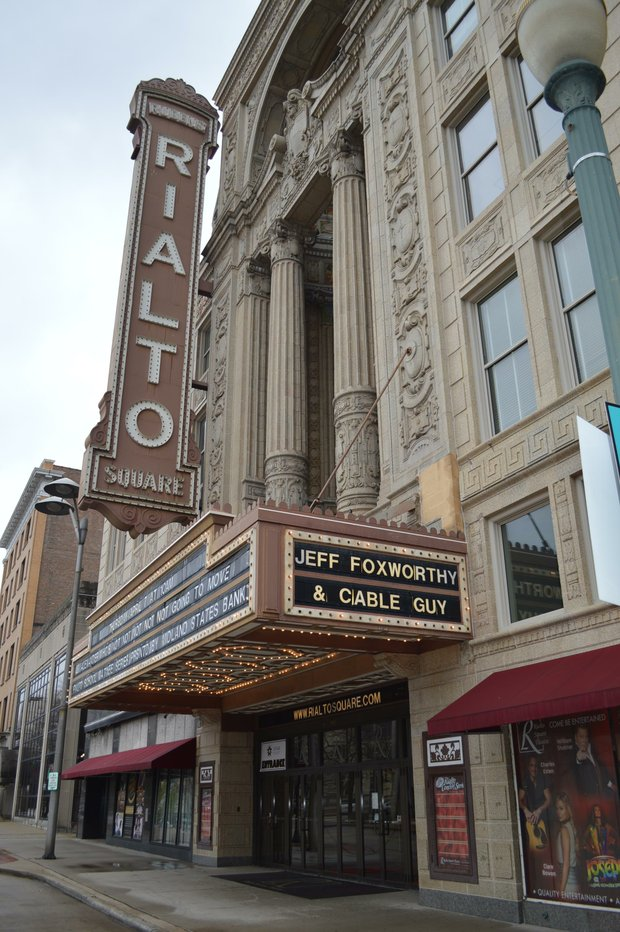 The Rialto Theater in Joliet.