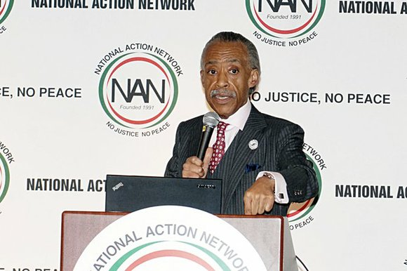 Rev. Al Sharpton who is currently in South Africa hosting an MSNBC broadcast on the 100th anniversary of Nelson Mandela, ...