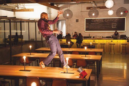 Portland's Heidi Duckler Dance Theatre/Northwest is re-launching its popular Table of Contents, at CENTRL Office, in the Pearl District.