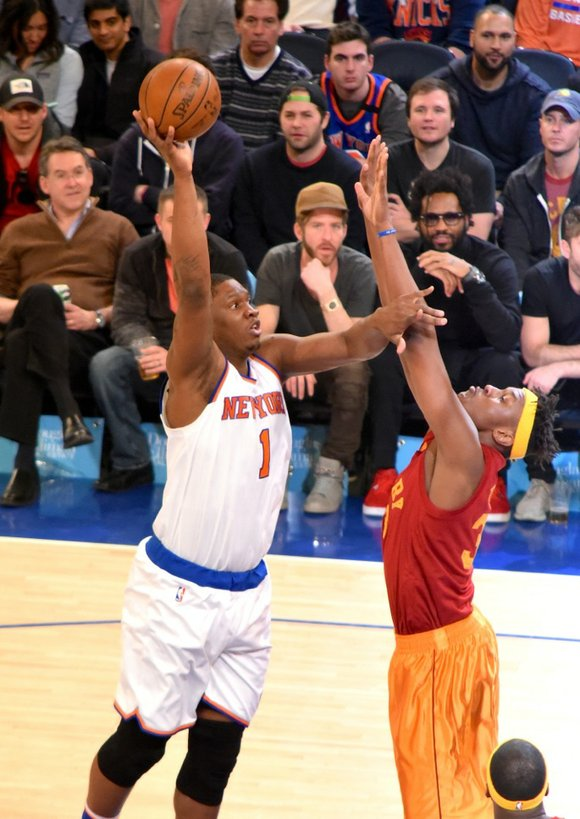 Tomorrow (Friday) in Philadelphia the Knicks will play the 76ers. Their last home game Sunday is against the Toronto Raptors, ...