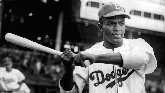 The youngest of five children, Jackie Roosevelt Robinson was an excellent athlete who played four sports as a youth football, ...