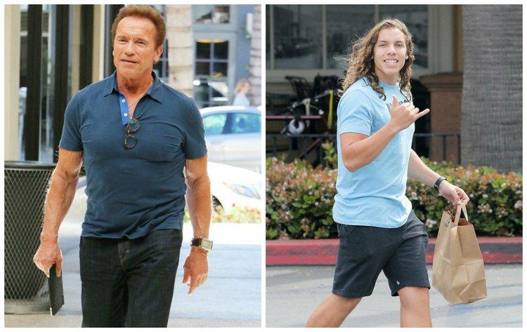 Schwarzenegger son