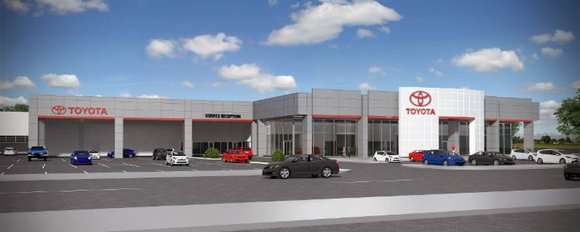 The new 47,000 square foot facility on Weber Road will take the place of the current lot on Larkin Road ...