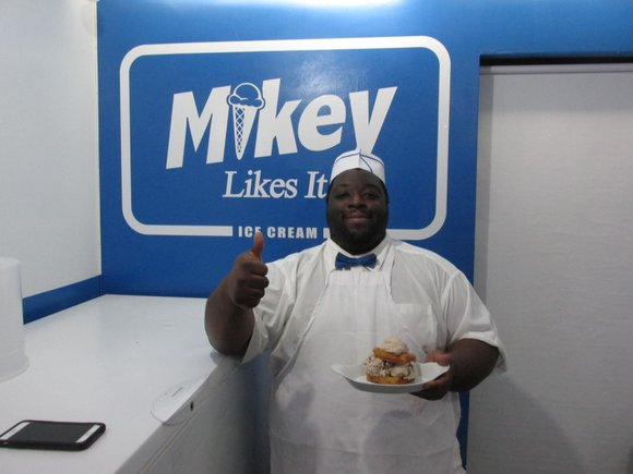 Everyone in New York City seems to love the world's first and only pop-cultured inspired ice cream shop called Mikey ...