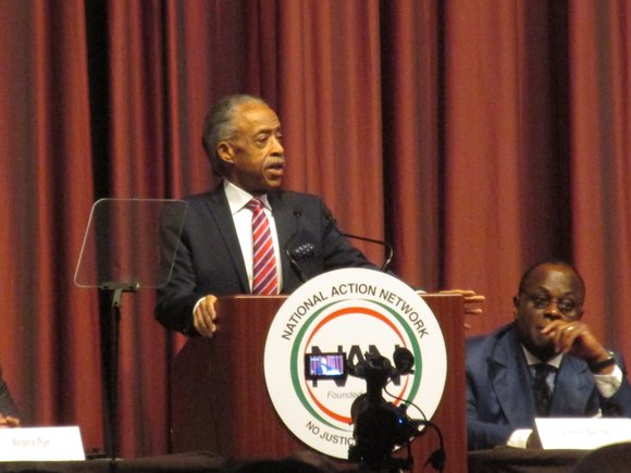 The Rev. Al Sharpton plans to discuss key issues affecting civil rights, economic and social justice and criminal justice reform ...