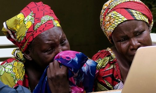 They were stolen from their beds in a school dormitory: hundreds of teenage girls kidnapped by gunmen.