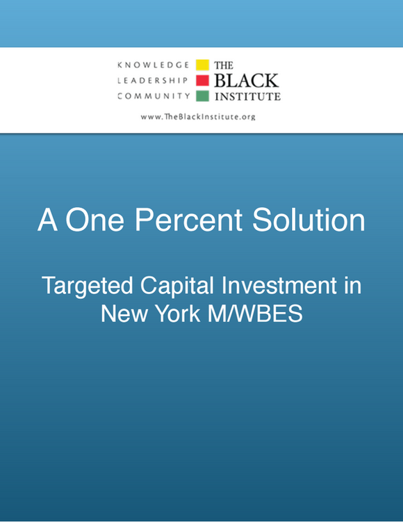 Although there has been an increase in the number of minority and women-owned businesses in New York, they remain vastly ...