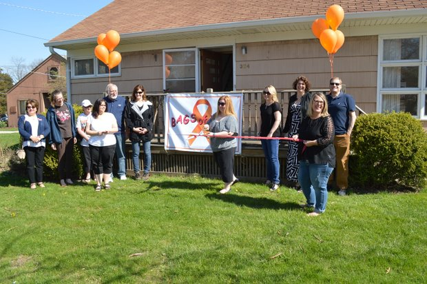 Bags of Hope, Lockport ribbon cutting