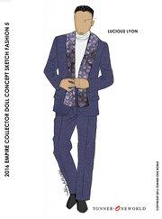 Lucious Lyon doll sketch