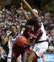 The New York Liberty's first-round pick was Adut Bulgak of Florida State University.