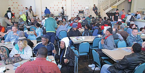 When leaders at Centenary United Methodist Church in Downtown were searching for a temporary site for their Friday feeding program ...