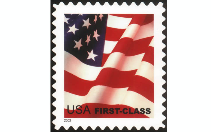 First class mail stamped letter