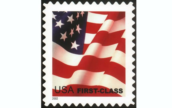 A postage stamp now costs 47 cents — a drop of 2 cents for a first class letter.