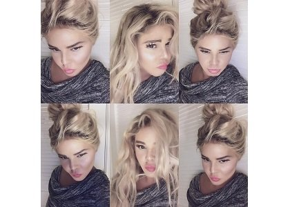 Lil' Kim looks nothing like she used to.