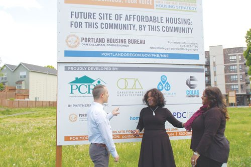 The goal is to have 100 new and affordable homes and commercial spaces built every year for the next 10 ...