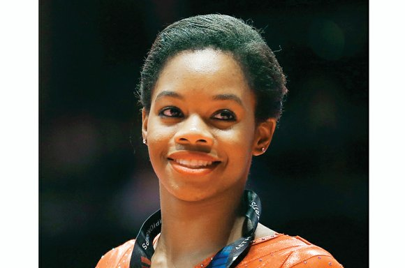 Gabby Douglas is seeking to become the first gymnast since Romanian Nadia Comaneci to win gold medals at back-to-back Olympics.
