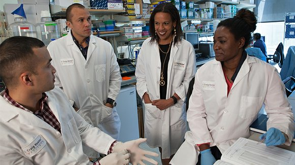 "A much-needed role model as STEM equity emerges as ""a critical civil rights concern."""