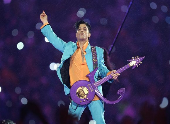 May Prince rest in purple peace.