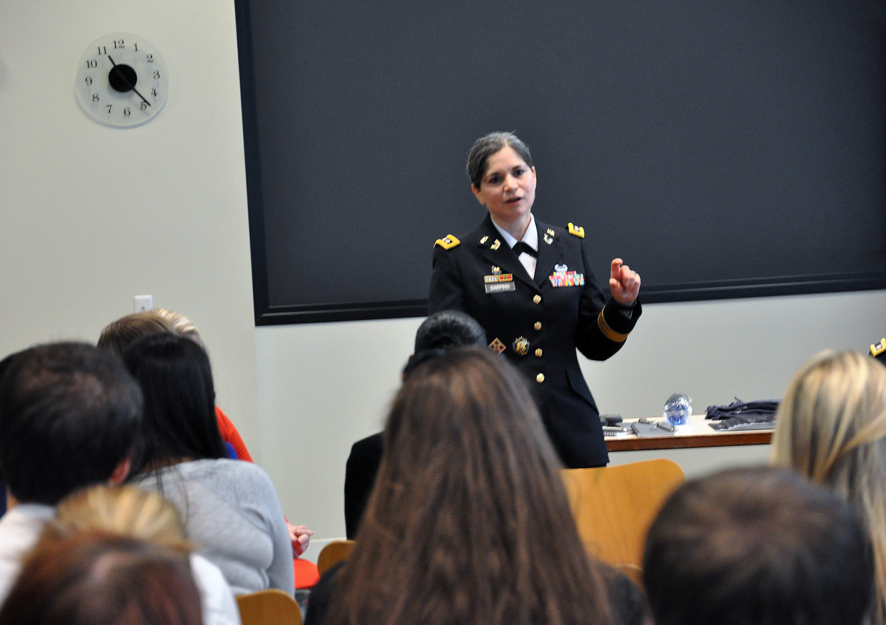 South Texas College Of Law Houston Hosts First Female Judge Advocate General Of The U S Army